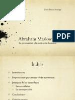 Presentación Abraham Maslow