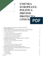Uniunea Europeana - Politica Privind Protectia Consumatorilor
