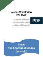 Islamic World Veiw