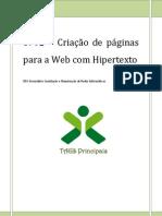 0792 – Criação de páginas para a Web com Hipertexto -Principais comandos