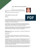 Ciberterapia y Realidad Virtual en Terapia Psicologica