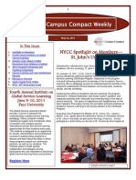 5-13-11 New York Campus Compact Weekly