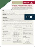CIA Application Form