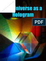 The Universe as a Hologram
