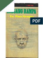 Tu Para Siempre(Usted Y La Eternidad) - Lobsang Rampa