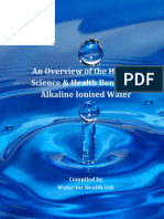 Alkaline Ionised Water Booklet