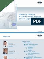 Bruker AXS Industrial Minerals EDXRF Webinar