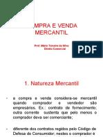 Compra e Venda Mercantil Direito Comercial