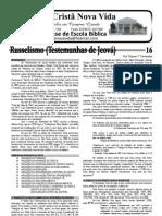 16 - Russelismo (parte I)