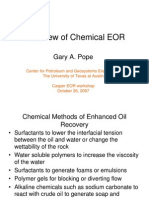 Overview of Chemical EOR