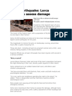 Spain Earthquake
