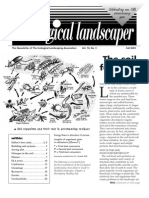 Fall 2003 The Ecological Landscaper Newsletter