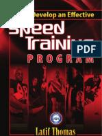 Speed Program Design