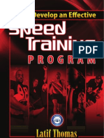 Speed Program Design