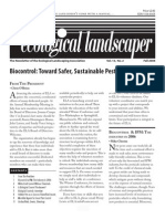 Fall 2006 The Ecological Landscaper Newsletter