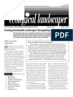Winter 2007 The Ecological Landscaper Newsletter