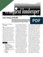 Spring 2007 The Ecological Landscaper Newsletter