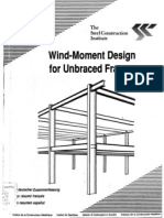Wind Moment Design for Unbraced Frames - 1991