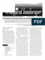 Winter 2008 The Ecological Landscaper Newsletter