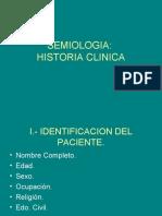 Semiologia en La Historia Clinica