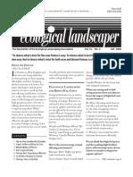 Fall 2008 The Ecological Landscaper Newsletter