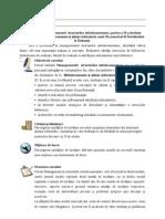 Managementul Structurilor Info Document Are, III, II,BSI