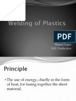 Welding of Plastics
