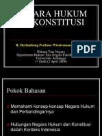 Negara Hukum Dan Konstitusi