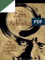 The Zen of Advaita