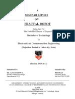 Fractal Robots