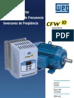 Manual Inversor de Frequencia CFw 10 WEG