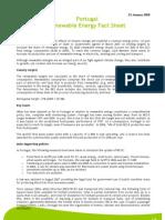 2008_Renewable Energy Fact Sheet - Portugal_en