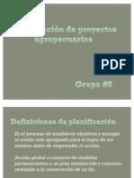 Planificacion proyectos