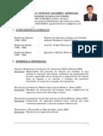 CV Rodrigo Sagredo (Foto)