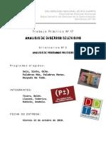 Análisis de Discurso Televisivo Argentina