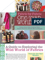 Fabric-by-Fabric One-Yard Wonders