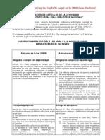 modificatoria ley 26905