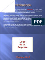 Ejemplo de Manual de Empresa