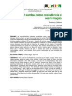 Samba Resist en CIA Reafirmacao