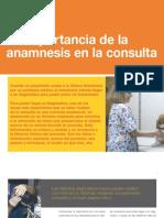 7 La importancia de la anamnesis en la consulta