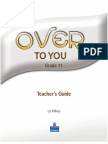 Teacher's Guide Over to You-G11
