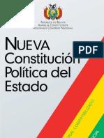 Nueva Constitución Política del Estado (Aprobada por el Congreso Nacional)