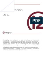 I2 Presentacion 2011 Corporate Security