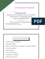 2009 - Deb - Multi-Objective Evolutionary Algorithms (Slides)
