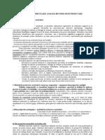 Tema 7. Proiectarea curriculara