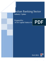 Indian Banking Sector - Industry Update Report - Feb 2011