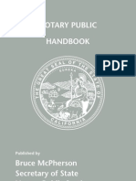 California Notary Handbook 2006[1]