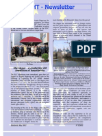 Newsletter of April 2011