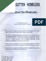 The Forgotten Homeless