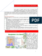 Country Emergency Situation Profiles Bangladesh